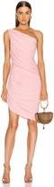 Norma Kamali Mini Diana Dress in Bubblegum   FWRD
