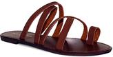 Fashion Focus Cognac Metric Sandal