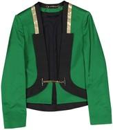 Gucci Green Silk Jackets