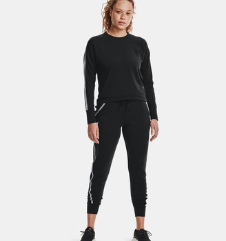 Under Armour Women's UA Rival Terry Taped Pants