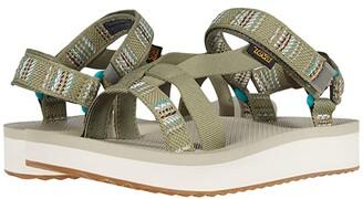 Teva Midform Arivaca (Aviles Burnt Olive) Women's Shoes