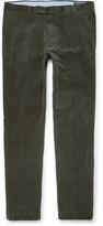 Polo Ralph Lauren Stretch-cotton Corduroy Trousers - Green