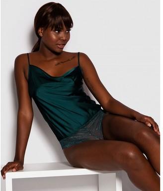 Bras N Things Melissa Cami Bodysuit -Dark Green