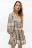 Free People Cosy Striped Mini Dress - assorted XS at Urban Outfitters