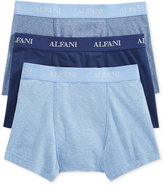 Alfani Men's Knit Tagless Slim Fit Stretch Trunks 3-Pack, Only at Macy's
