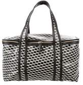 Pierre Hardy Cube Print Canvas Tote