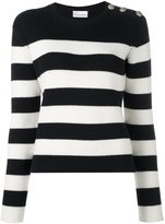 RED Valentino button detail jumper