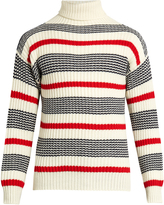 TOMORROWLAND Striped roll-neck sweater