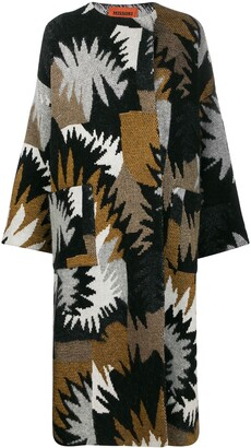 Missoni patterned knit coat