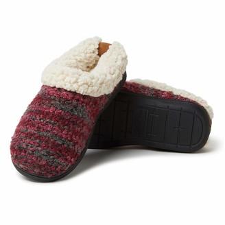 Dearfoams Women's Cozy Boucle Clog Slipper