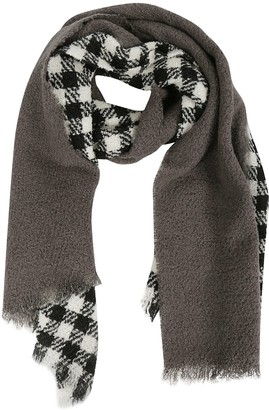 Destin Surl Checked Scarf
