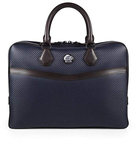 Dunhill Chassis Leather Briefcase