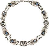 Georg Jensen Moonstone No. 1 Collar Necklace