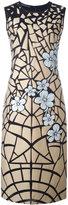 Alberta Ferretti floral dress - women - Silk/Cotton/Polyamide/other fibers - 42