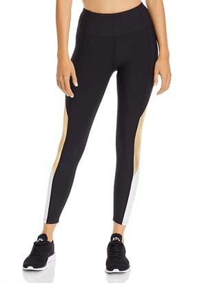 Aqua Color-Block High-Rise Leggings - 100% Exclusive