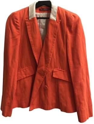 Comptoir des Cotonniers \N Orange Cotton Jacket for Women