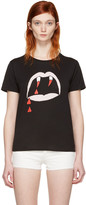 Saint Laurent Black Blood Luster T-shirt