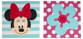 Disney Minnie Canvas Wall Art (2pk)