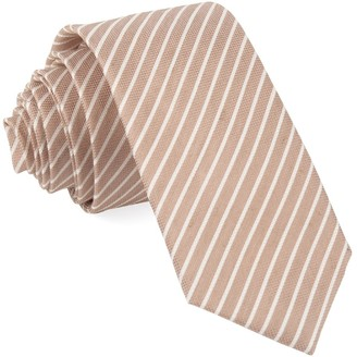 BHLDN BhldnThe Tie Bar Rose Quartz Pier Stripe Tie