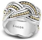 Lagos 18K Gold & Sterling Silver Torsade Ring