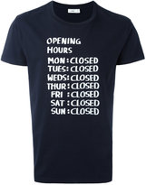 Closed printed T-shirt - men - Cotton - XL