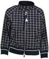 Moncler Tweed-printed Jacket