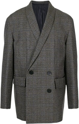 Wooyoungmi Double-Breasted Shawl Collar Jacket