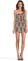 T-Bags LosAngeles Strapless Cutout Mini Dress