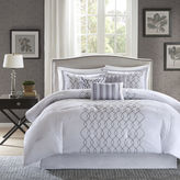 JCPenney Madison Park Lillian Embroidered 7-pc. Comforter Set