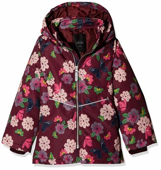 Name It Girl's Nkfmaxi Jacket Butterfly