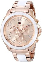 Tommy Hilfiger Women's 1781393 Rose Gold-Tone Watch
