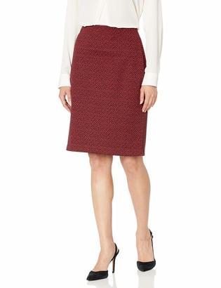 Nine West Women's Jacquard Skirt