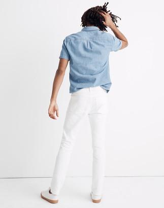 Madewell Skinny Everyday Flex Jeans in Tile White