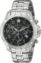 Wenger Men's 78256 GST Chrono Dial Steel Bracelet Watch