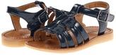 Cole Haan Apple Double Dutch (Toddler/Little Kid) (Navy) - Footwear
