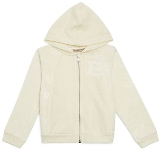Ermanno Scervino Lace-Detail Hoodie (6-14 Years)