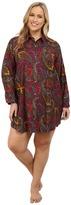 Lauren Ralph Lauren Plus Size Flannel Sleepshirt