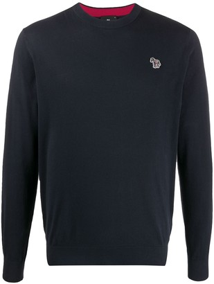 Paul Smith Logo Embroidered Jumper