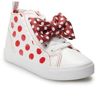 Disney Disney's Minnie Mouse Girls' High Top Shoes