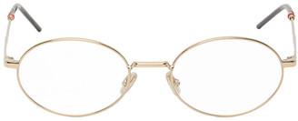 Christian Dior Gold Dior237 Glasses