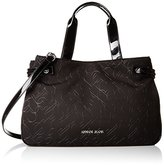 Armani Jeans Quilted Heart Design Neoprene East West Shopper