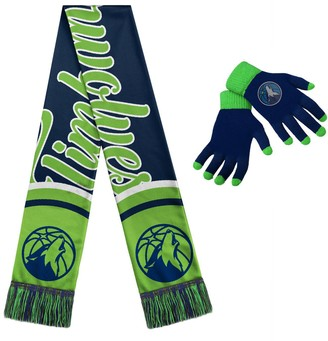 Women's Minnesota Timberwolves Glove and Scarf Set