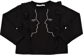 VIVETTA Embroidered Cotton Sweatshirt