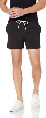 Goodthreads Amazon Brand Men's Standard 5 Inch Inseam Pull-On Stretch Canvas Short