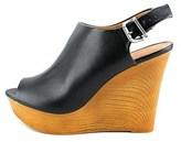 Zigi Womens Lorita Peep Toe Ankle Strap Wedge.