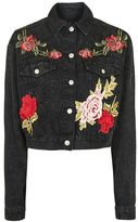 Topshop Moto luxe rose jacket