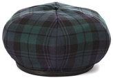 Miu Miu Plaid wool beret