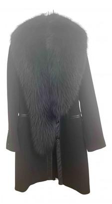 Flavio Castellani Black Cashmere Coats