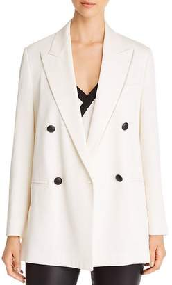 Giorgio Armani Double-Breasted Peak-Lapel Blazer
