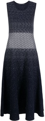 Antonino Valenti Knitted Sleeveless Long Dress